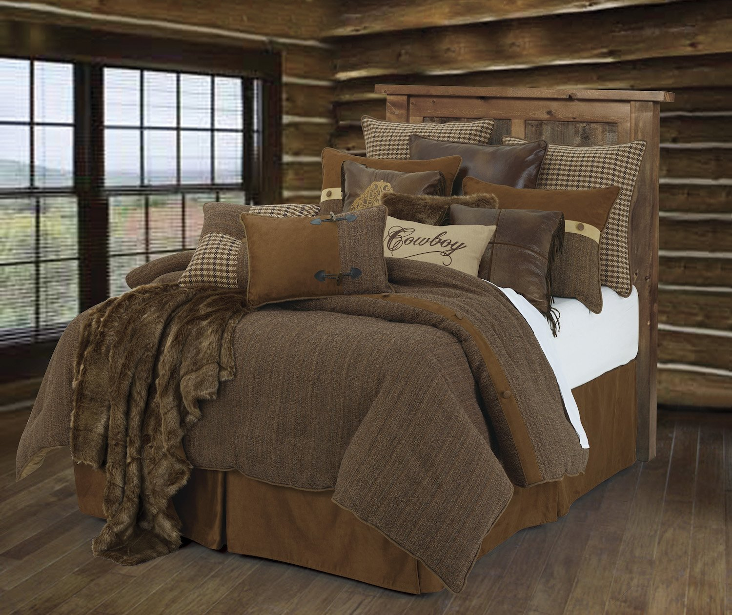 HiEnd Accents Crestwood Lodge Bedding Collection, Full