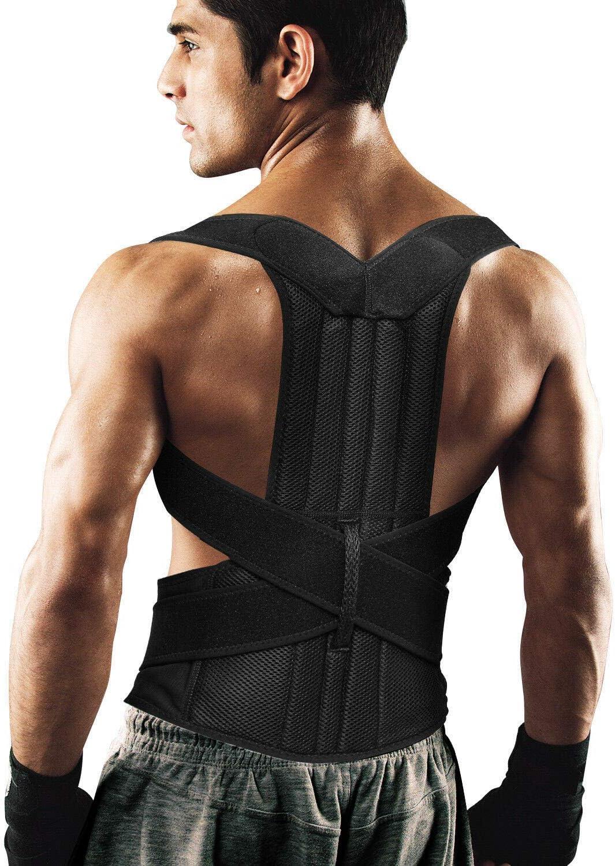 Back Brace Posture Corrector for Women and Men Back Lumbar Support Shoulder Posture Support
