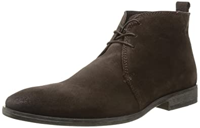 Base London Homme Suede Marron Brown Boots greasy Cumin 41 Eu rHRAqwdr