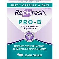 RepHresh™ Pro-B™ Probiotic Feminine Supplement Capsules, 30 Count