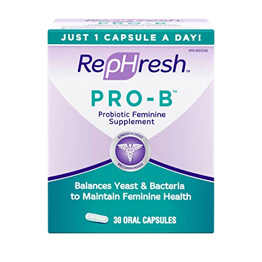 Product thumbnail for RepHresh Pro-B Probiotic Feminine Supplement