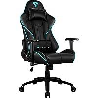 THUNDERX3 RC3-HEX RGB Colorlighting Gaming Chair (Cyan)