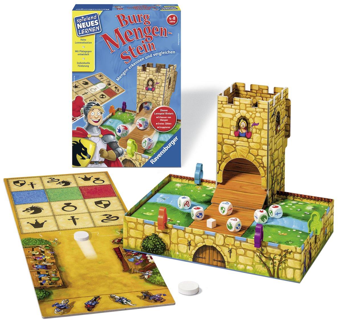Bei uns zu Hause Spiel Deutsch 2015 Puzzles 3 erste Mix-Max-Puzzles Puzzles & Geduldspiele
