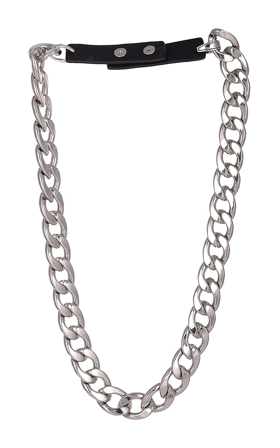 42d33548021 Buy Steve Madden Festive Silver Metal Chain for Women (SMN467946RH) Online  at Low Prices in India
