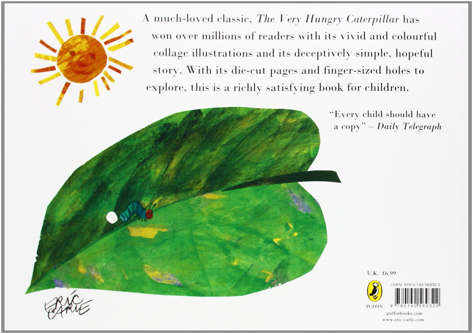 the very hungry caterpillar picture puffins eric carle