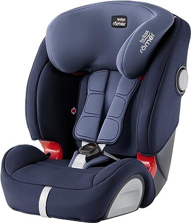 Comprar Britax Römer Silla de coche 9 meses - 12 años, 9 - 36 kg, EVOLVA 1-2-3 SL SICT, ISOFIX, Grupo 1/2/3, Moonlight Blue