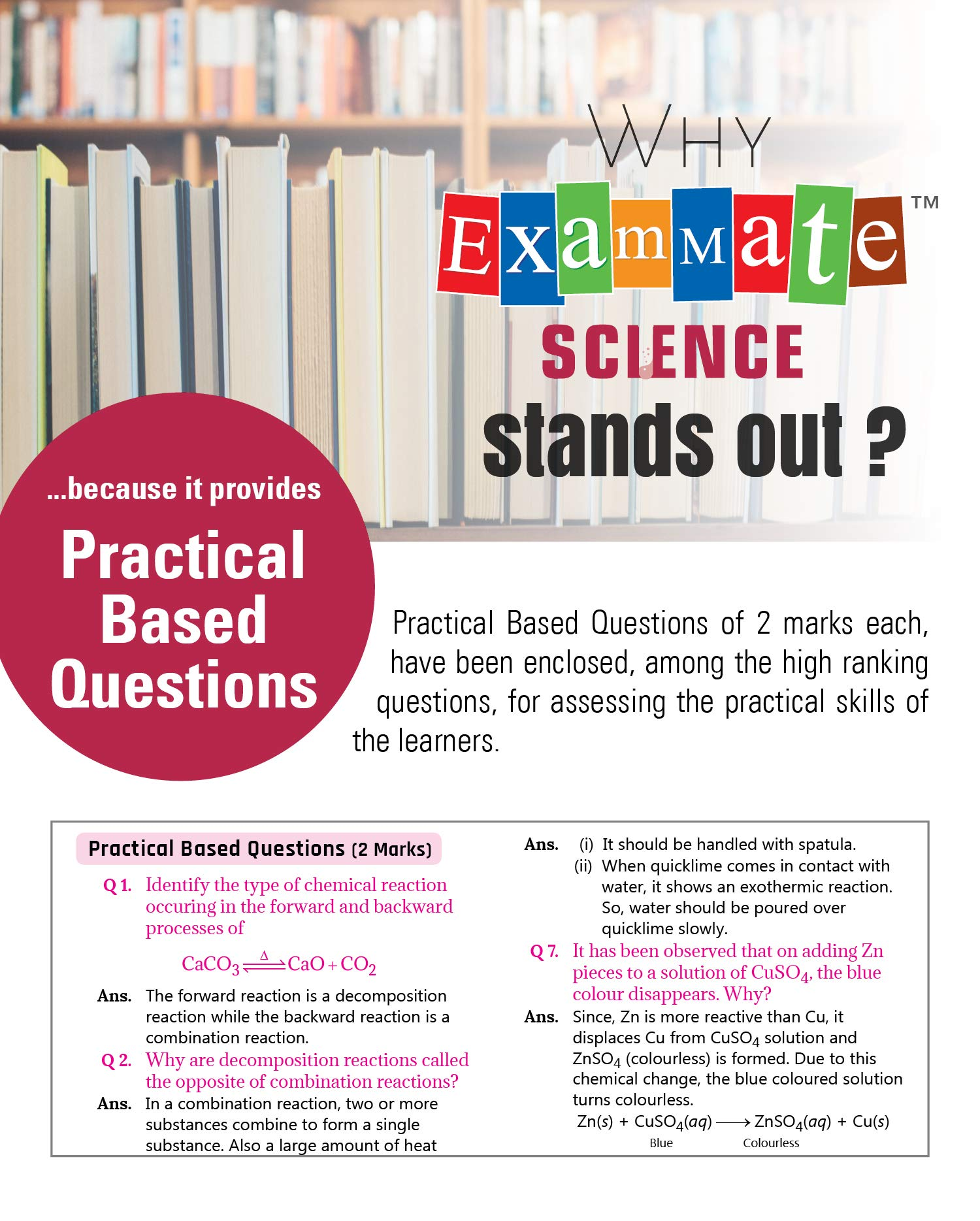 Exam Mate Science For Class 10 For 2019 Examination Amazon Gp