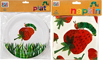 Amazon.com: Talking Tables Party Pack - The Very Hungry Caterpillar ...