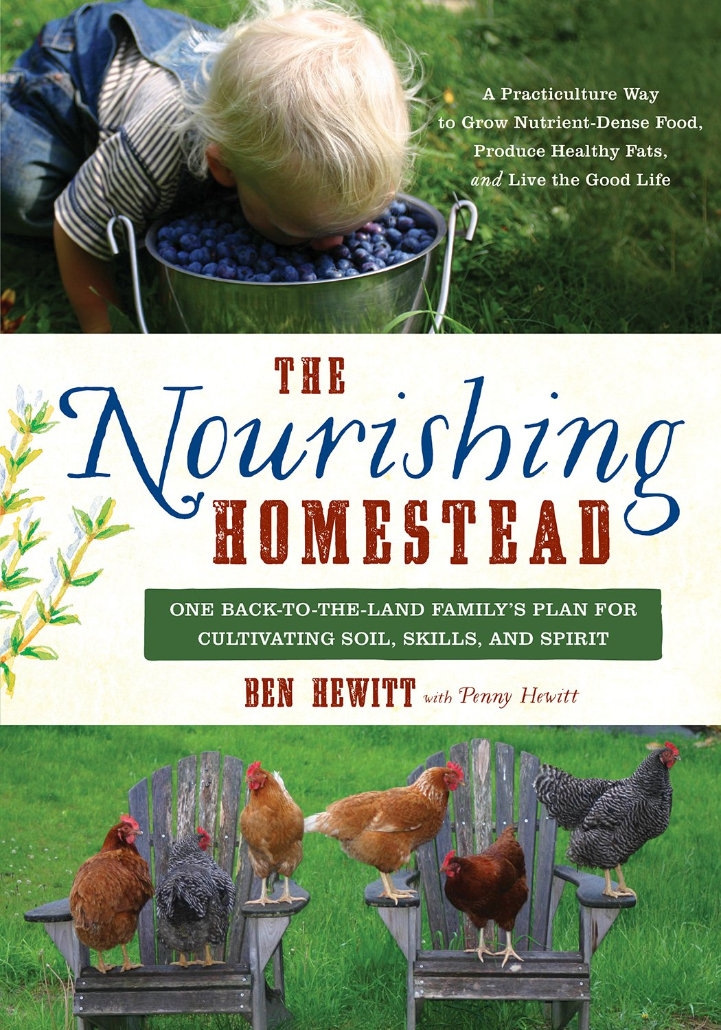 Nourishing Homestead Back Land Cultivating