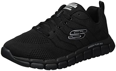 790d640496ba Skechers Men s Skech Flex 2.0 Milwee Black Black 6.5 ...