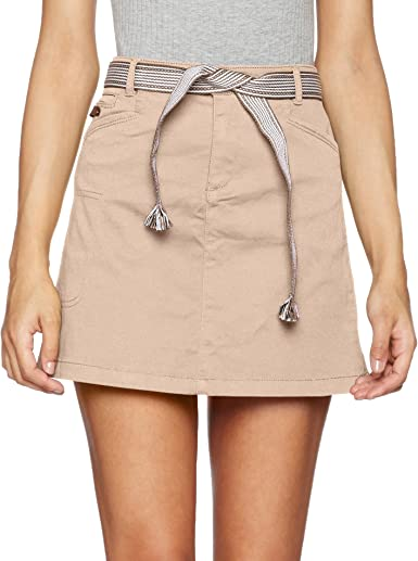 VERO MODA Vmshany Nw Cargo Skirt, Falda para Mujer, Beige ...