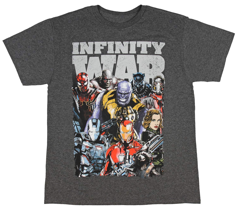 Infinity War Distressed 2577 Shirts