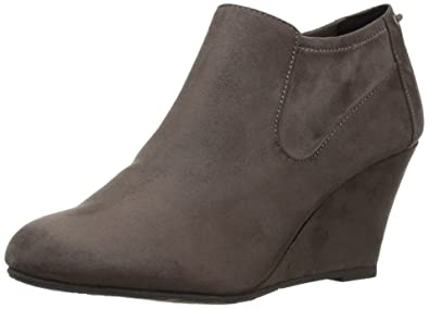 205a5a247285 CL by Chinese Laundry Women s Viva Ankle Bootie Slate Grey Suede 6 ...