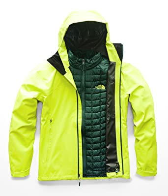 4c64633a95 The North Face Men s Thermoball Triclimate Jacket - Lime Green   Lime Green  - S
