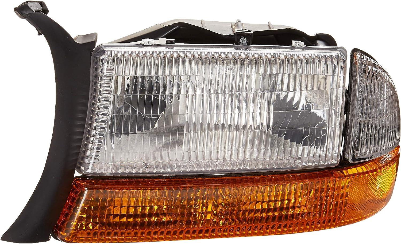 TYC 20-5064-09-1 Dodge Left Replacement Head Lamp