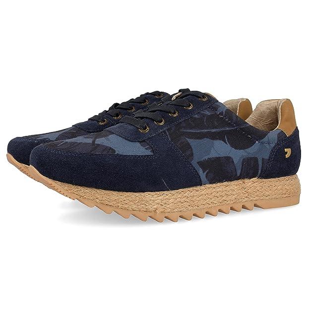 Gioseppo 45087, Zapatillas para Hombre, Azul (Blue), 43 EU