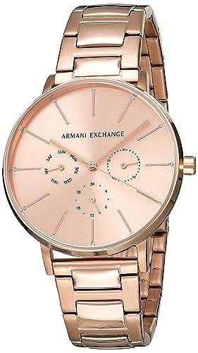 70cf5a3eb32e Buy Armani Exchange Lola Analog Gold Dial Women s Watch - AX5552 ...