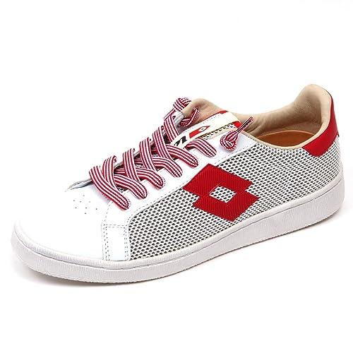 Original De Salida Venta Barata LOTTO Sneakers uomo uomo bianco/rosso W2bmiaZN