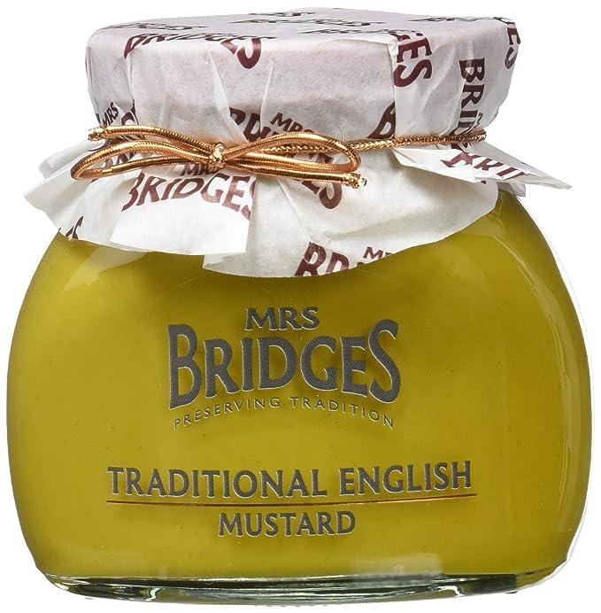 Mrs. Bridges, Salsa para untar (Mostaza tradicional) - 6 de 200 gr
