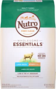 NUTRO WHOLESOME ESSENTIALS Puppy Dry Dog Food, All Breed Sizes
