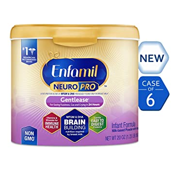 enfamil neuropro gentlease infant formula clinically proven to reduce fussiness gas crying in - Formula For Gassy Babies