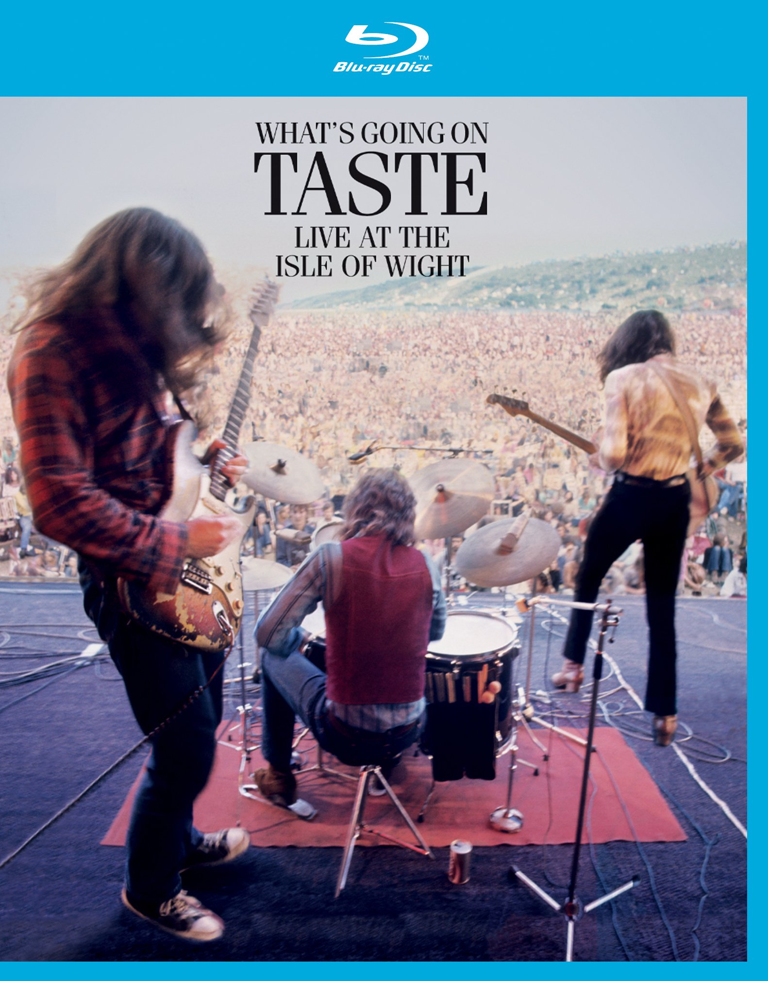 Blu-ray : Taste - What's Going on Taste Live at the Isle of Wight (Blu-ray)