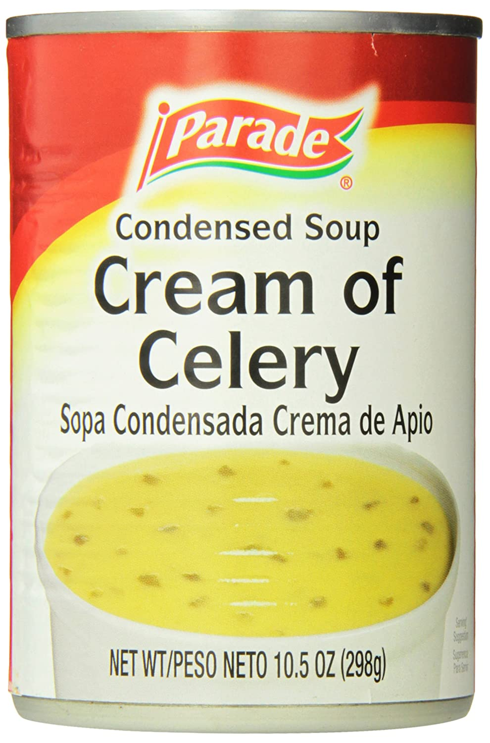Parade Cream of Celery Soup, 10.5 Ounce (Pack of 24): Amazon.com: Grocery & Gourmet Food