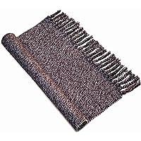 USTIDE 2'x3' Hand Woven Tassel Cotton Rug Farmhouse Doormat Kitchen/Bathroom/Porch Rug Doormat Accent Rug