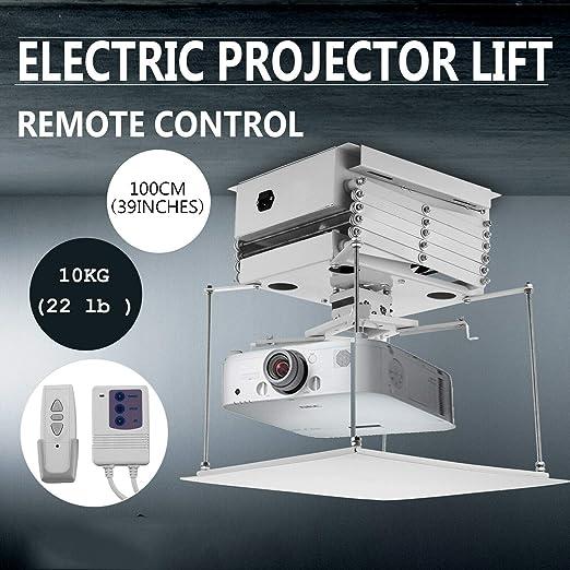 Soporte para proyector motorizado 1M Techo eléctrico Oculto ...