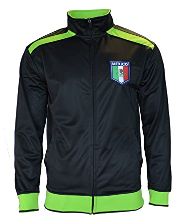 Amazon.com : Mexico Jacket Track Adult Soccer Zip up Hoodie FMF ...