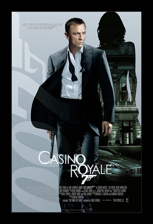 James Bond Casino Royale - 11x17 Framed Movie Poster by Wallspace