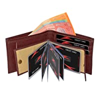 Accezory Brown Men's Wallet (ACBROALB)