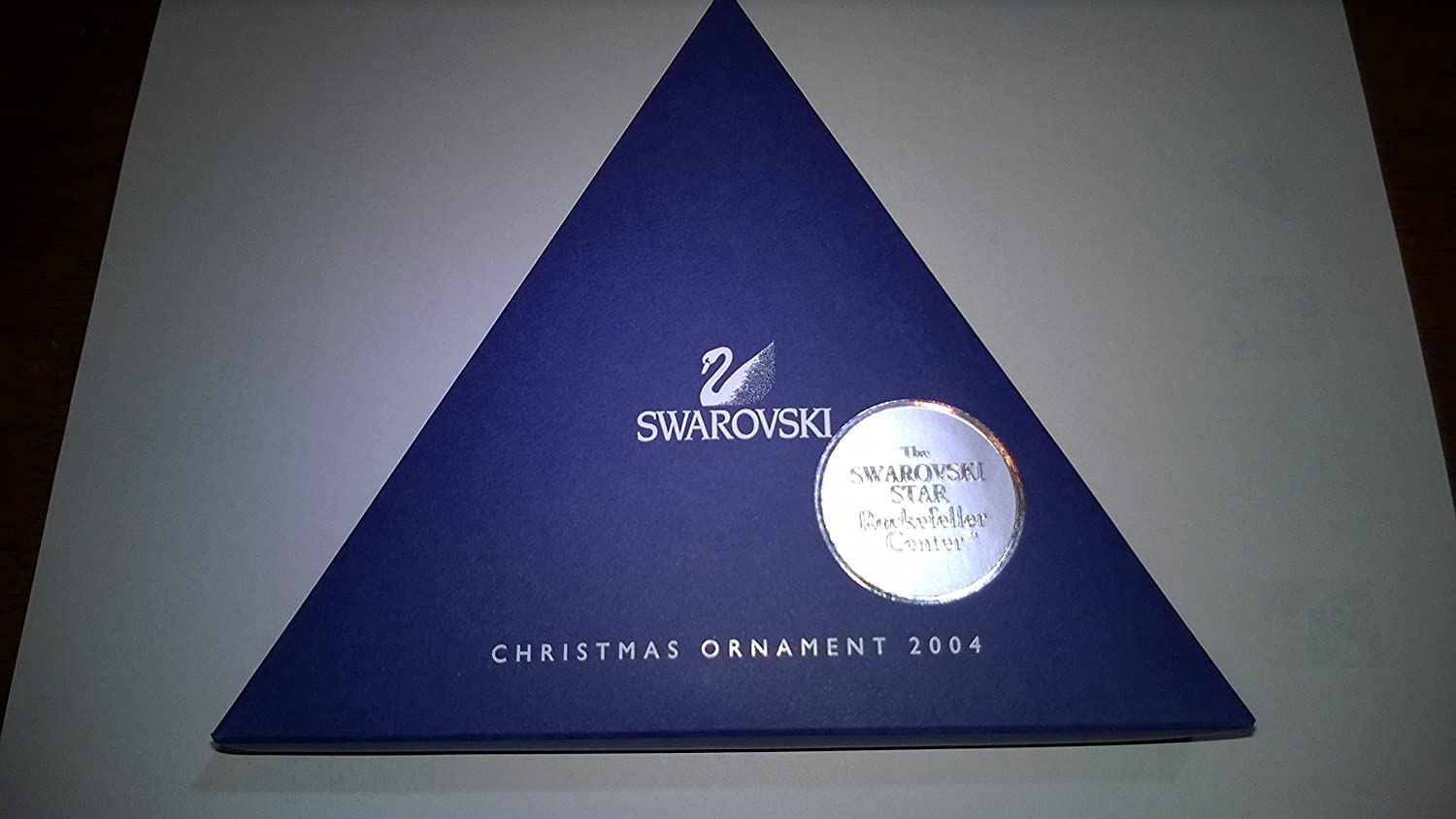 Swarovski christmas ornament 2004 - Amazon Com Swarovski 2004 Annual Christmas Snowflake Star Ornament Home Kitchen