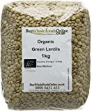 Buy Whole Foods Organic Green Lentils 1 Kg