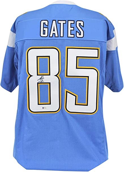 chargers gates jersey