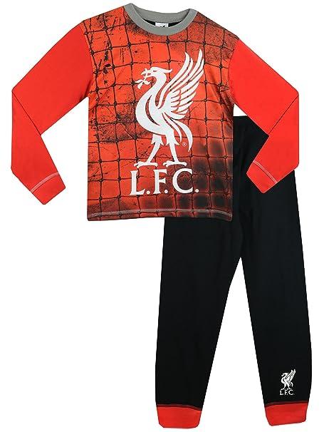 Liverpool F.C. Official, Conjuntos de Pijama para Niños, (Multicoloured), 5-