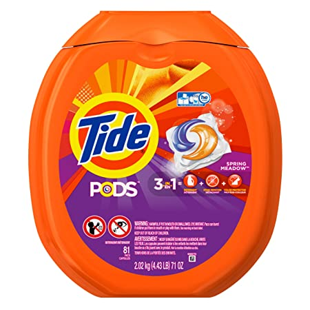Tide PODS Spring Meadow Laundry Detergent Pacs 81-load Tub