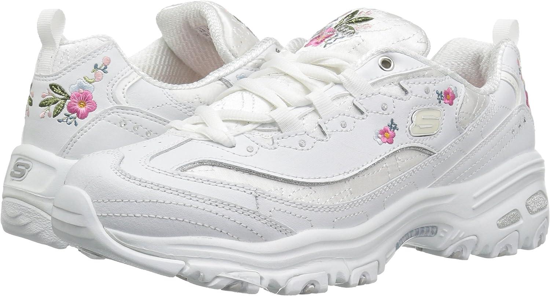 Skechers D'Lites Bright Blossoms 11977 w, Sneakers Basses Femme