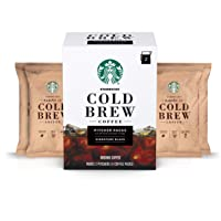 Starbucks Cold Brew Coffee — Signature Black — Pitcher Packs — 3 boxes (makes 6...