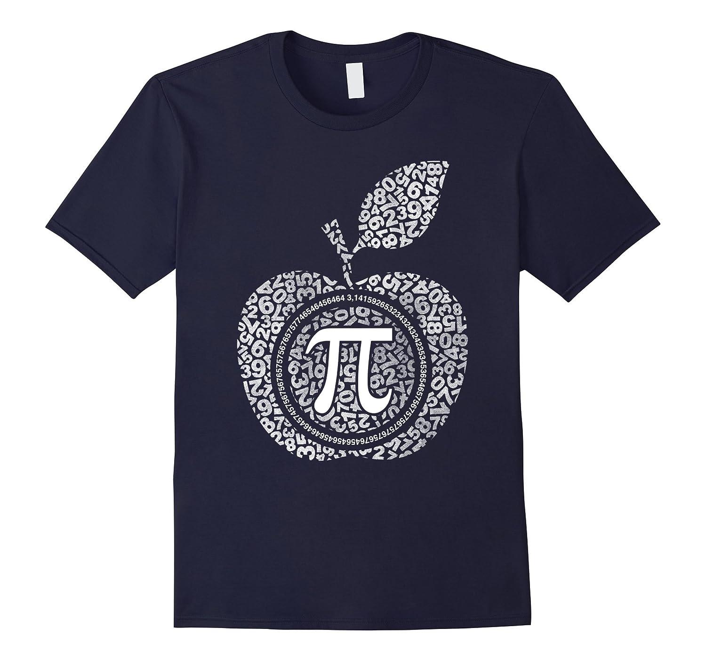 Apple Pi - Math Shirt pi day T-shirt-TD