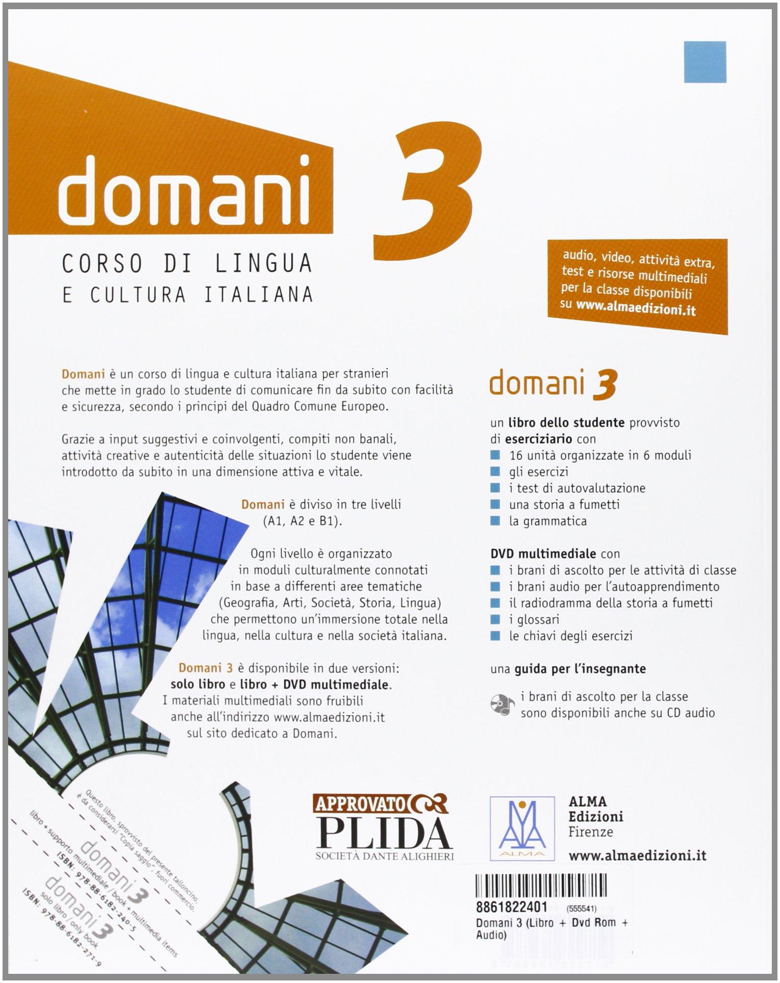 Domani 1 Alma Edizioni Pdf