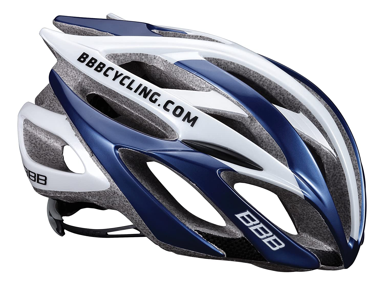 BBB Helm Falcon Team-Radfahren, Weiß Blau