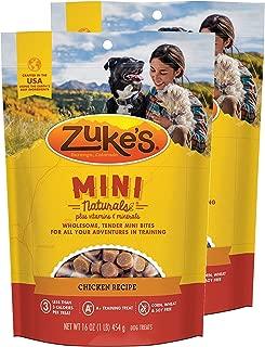 product image for Zuke's Mini Naturals Dog Treats Chicken Recipe 16 oz 2 Pack