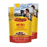 Zuke's Mini Naturals Dog Treats Chicken Recipe 16 oz 2 Pack