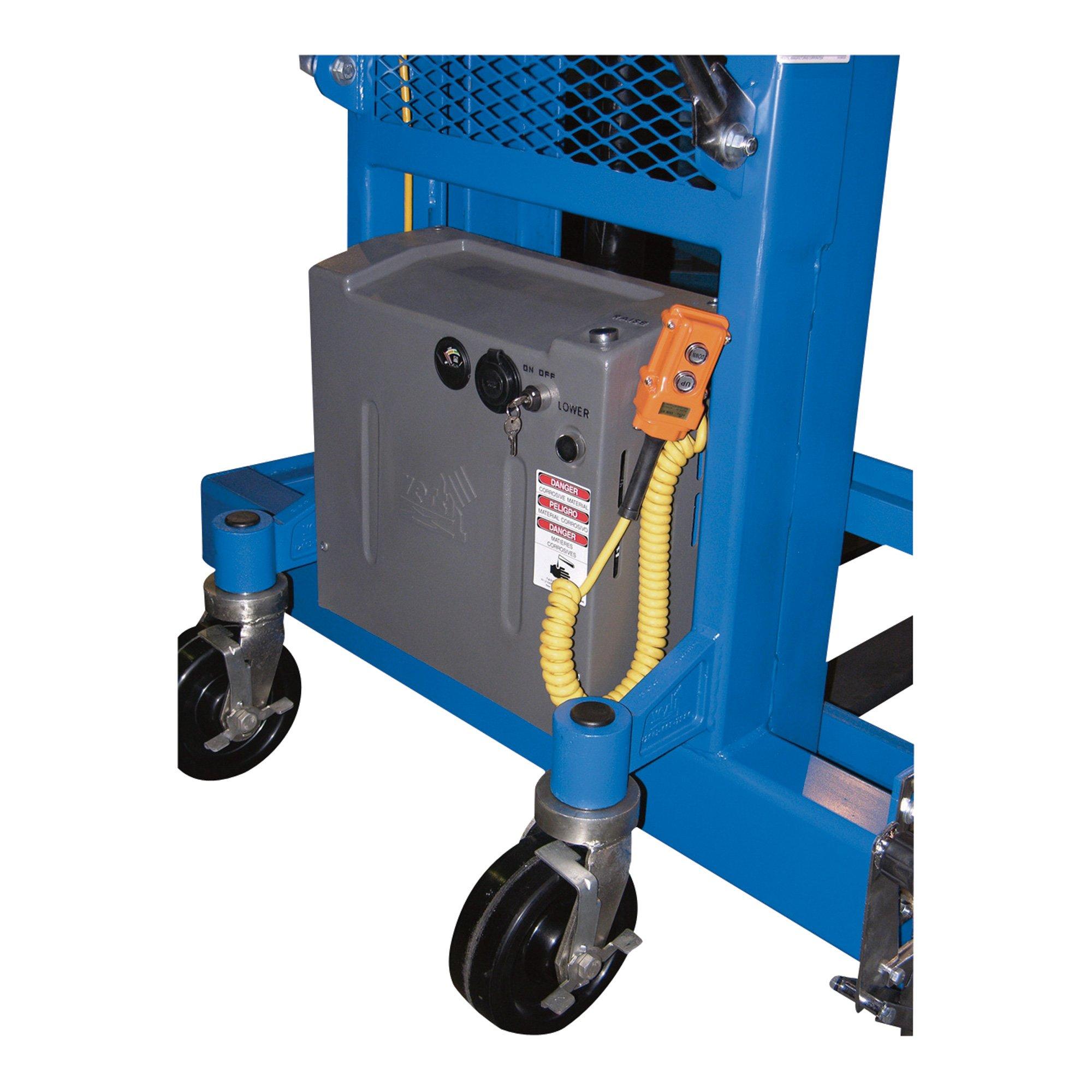 Vestil Pallet Master Pallet Server - 12V DC Power, 4,000-Lb. Capacity, Model# PMPS-60-DC