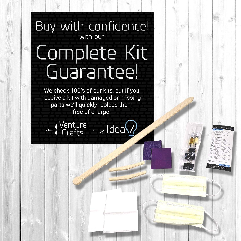 IDEA 7 Premium Bamboo Katana Kit Fun Craft Project Build a Durable Katana That Will Last!