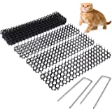 Cat Scat Spike (10 Strips) – Gentle Pet Deterrent for Cats, Dogs and More – Non-Toxic Humane and Effective Repellent – Easy t