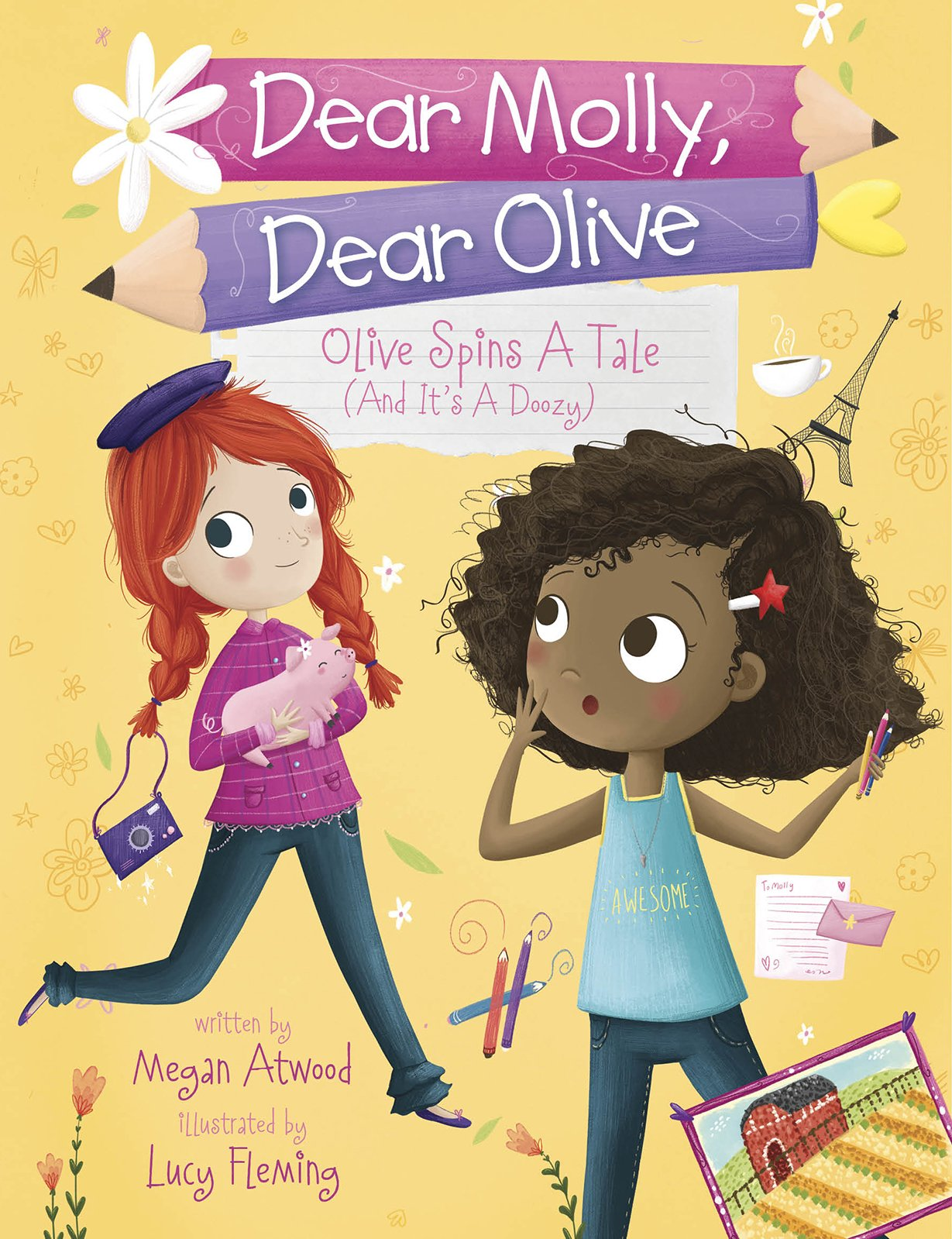 Download Olive Spins a Tale (and It's a Doozy!) (Dear Molly, Dear Olive) pdf epub