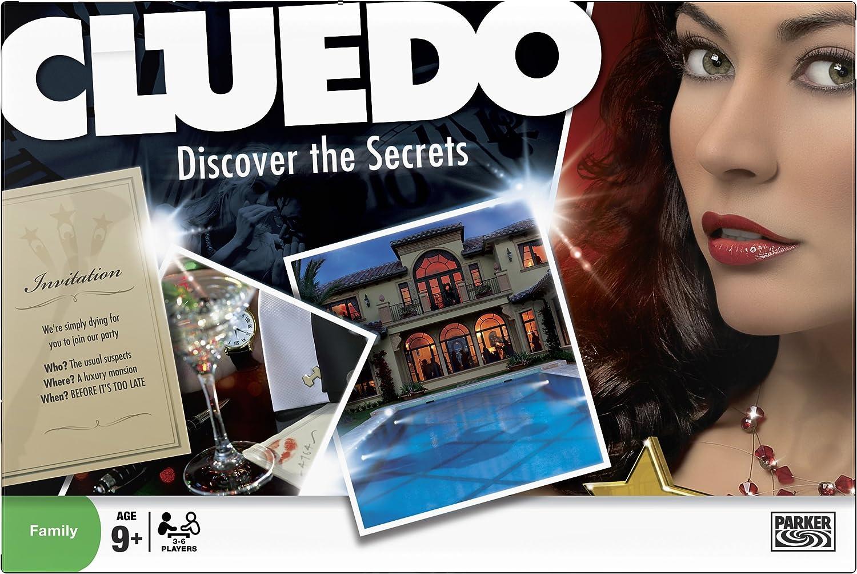 Hasbro Cluedo - Juego de mesa (en inglés): Amazon.es: Juguetes y juegos