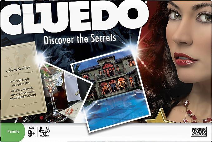 Hasbro Cluedo - Juego de mesa (en inglés): Amazon.es: Electrónica
